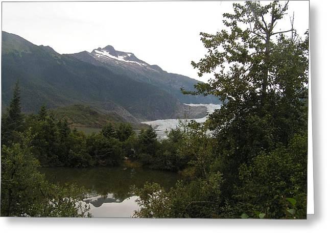 Mendenhall Glacier 2. Alaska Greeting Card