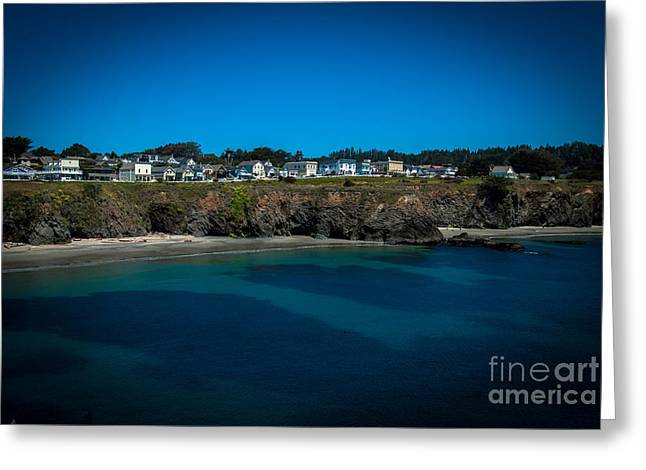 Mendocino California Greeting Card