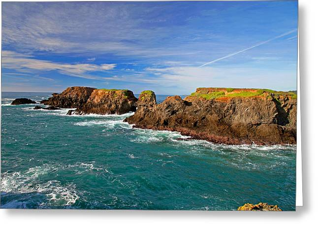 Mendocino Coast Greeting Card