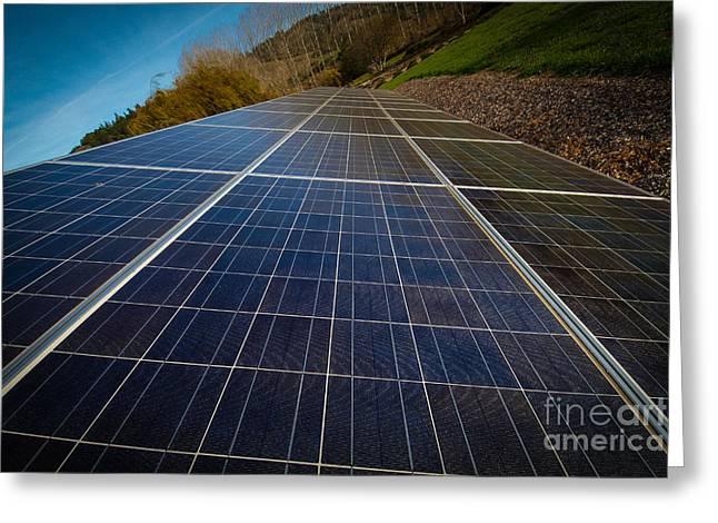 Mendocino Solar Greeting Card