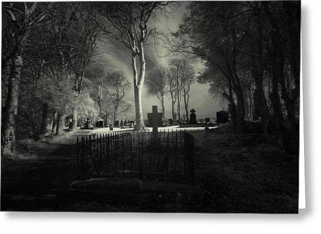 Menlo Cemetery Greeting Card