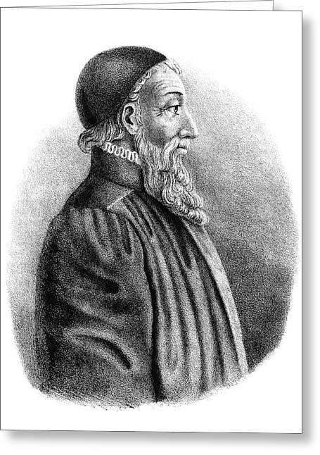 Menno Simons (1496-1561) Greeting Card by Granger