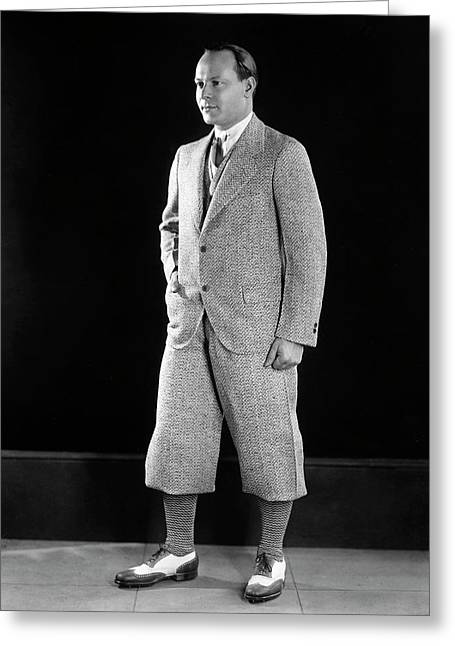 Men's Fashion, C1925 Greeting Card by Granger