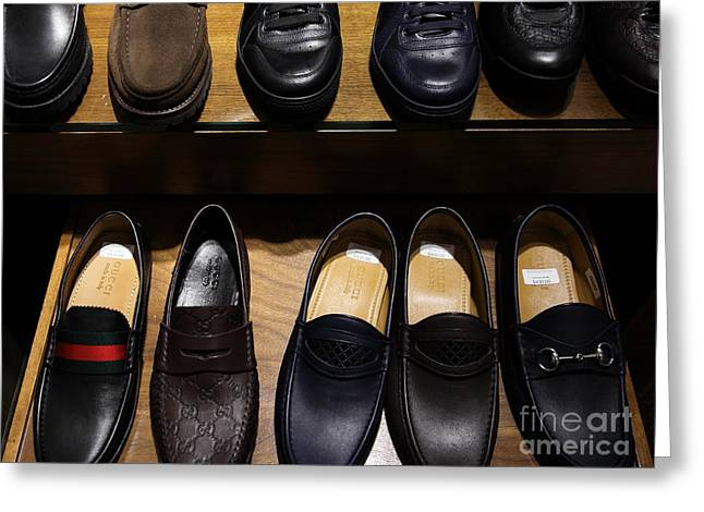Men's Shoes - 5d20644 Greeting Card by Wingsdomain Art and Photography