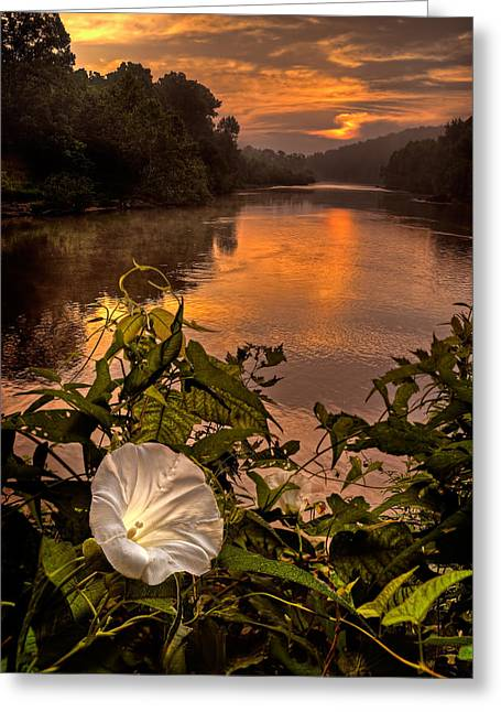Meramec River At Chouteau Claim Greeting Card
