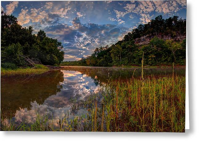 Meramec River  Greeting Card