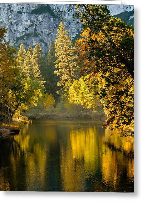 Merced Colors Greeting Card