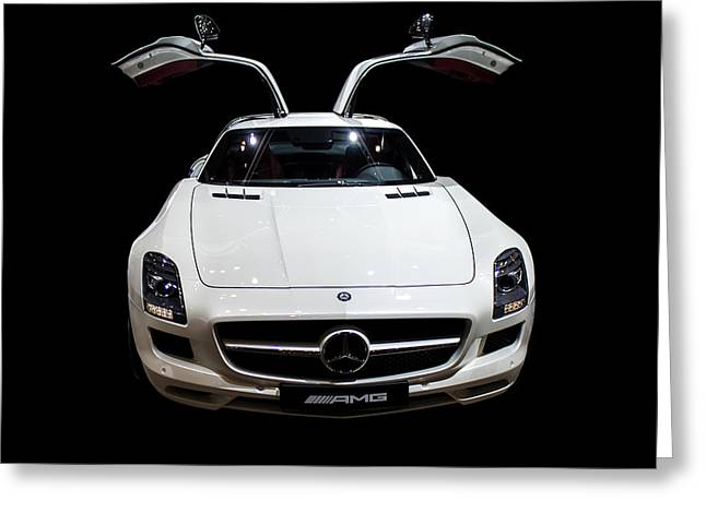 Mercedes Amg Greeting Card
