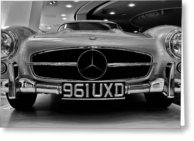 Greeting Card featuring the photograph Mercedes Benz 300sl by Stephen Taylor