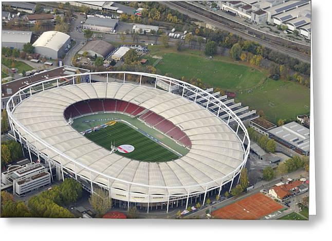 Mercedes-benz Arena Stuttgart Germany Greeting Card