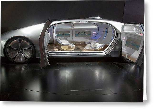 Mercedes-benz F015 Autonomous Car Greeting Card