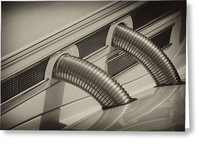 Mercedes Vents Greeting Card by Paul W Faust -  Impressions of Light