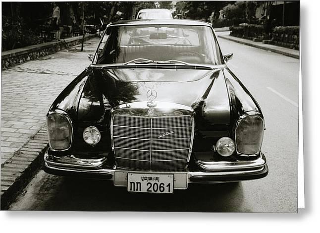 Mercedez Benz Greeting Card