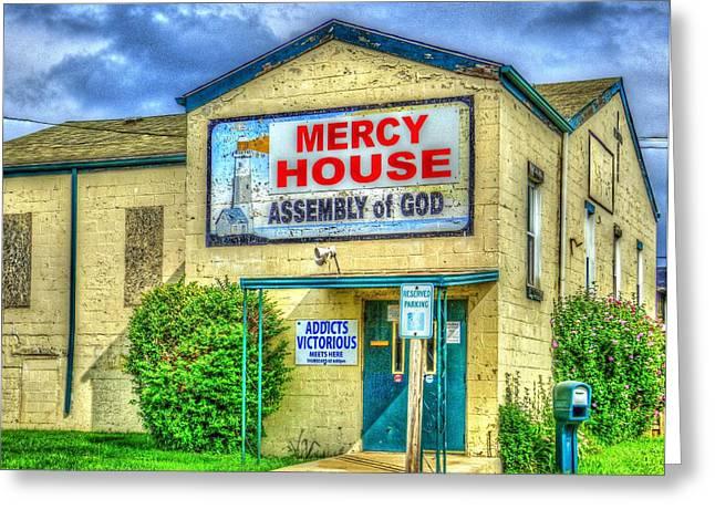 Mercy? Greeting Card