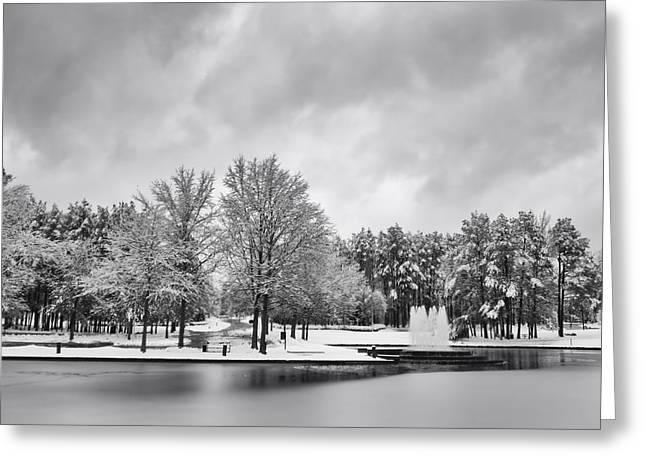 Meridian Parkway Winter Greeting Card