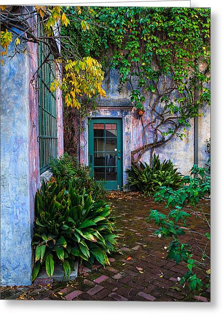 Meridian Studios Courtyard Greeting Card