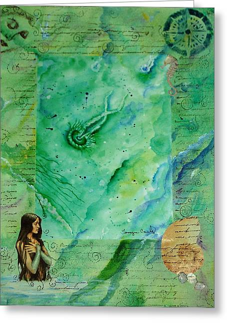 Mermaid Cove Greeting Card