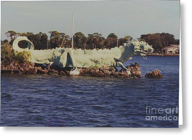 Merritt Island River Dragon Greeting Card