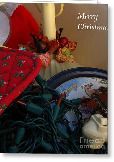 Merry Christmas Greeting Card by Greg Patzer