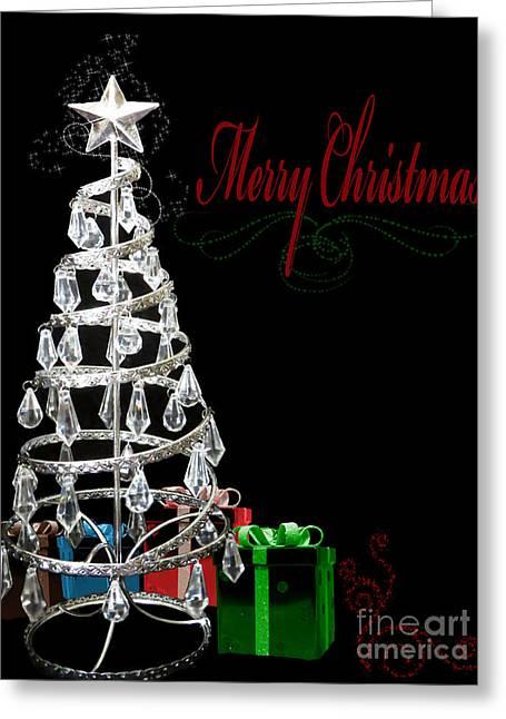 Merry Christmas II Greeting Card by ChelsyLotze International Studio