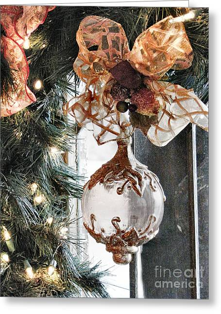 Merry Christmas Greeting Card by Rory Sagner