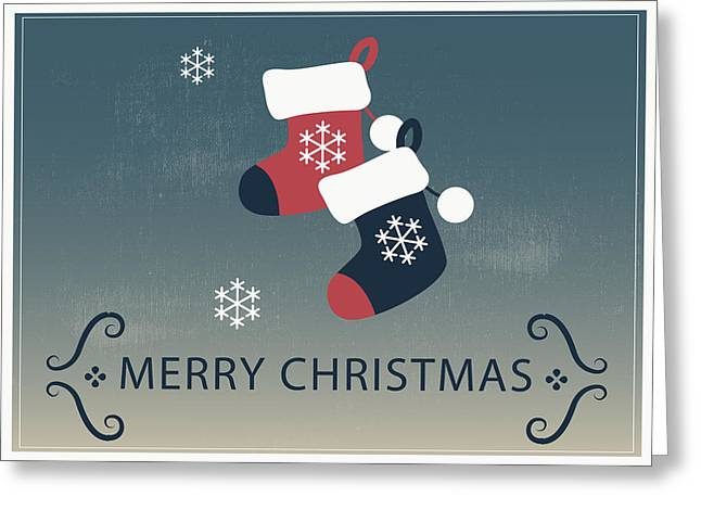 Merry Christmas Stocking Stuffers Greeting Card
