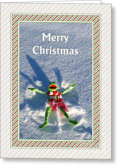Merry Kermie Christmas Greeting Card