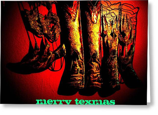 Merry Texmas Greeting Card