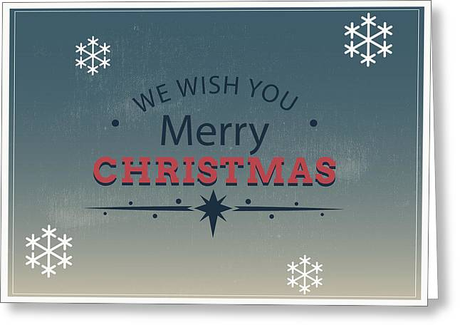 Merry Xmas Greeting Card Greeting Card