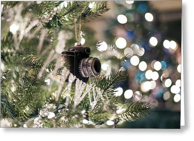 Merry Xmas Shutterbugs Greeting Card by Edward Kreis