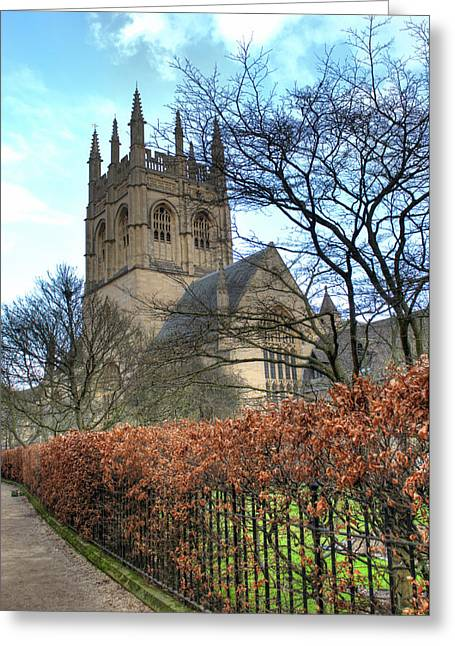 Merton College Chapel Greeting Card
