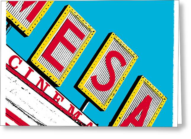 Mesa Cinema Greeting Card