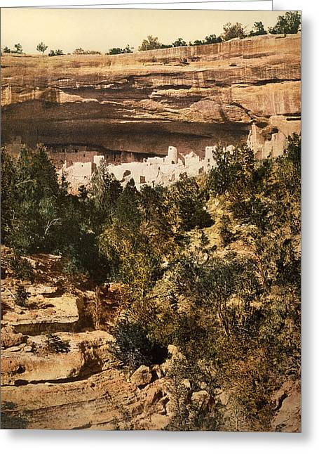 Mesa Verde Cliff Palace Greeting Card