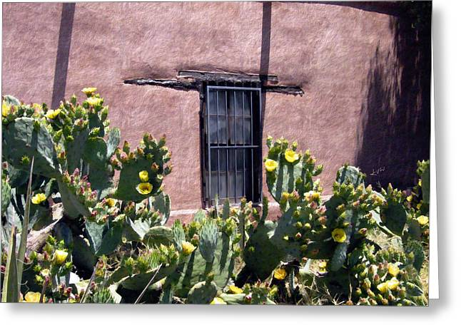 Mesilla Bouquet Greeting Card by Kurt Van Wagner