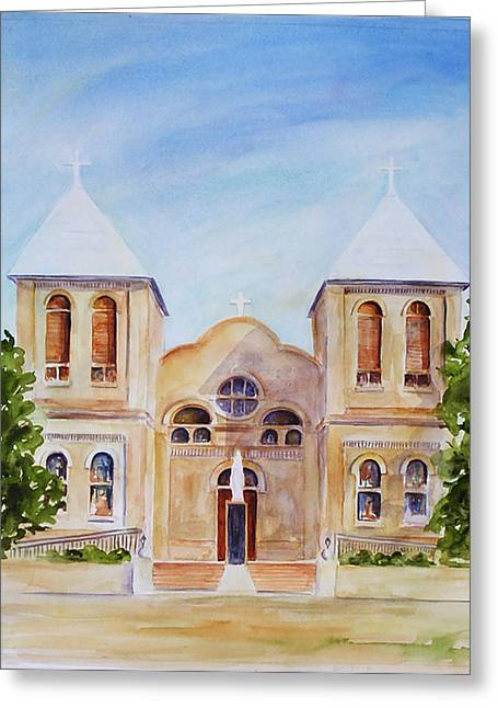 Mesilla Church Greeting Card