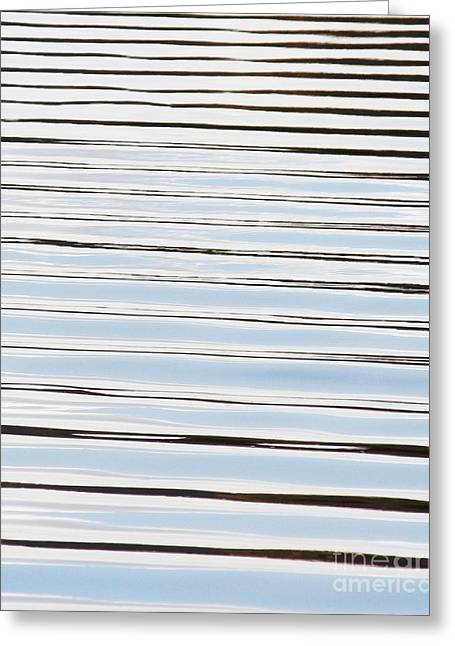 Greeting Card featuring the photograph Mesmerizing Waves by Anita Oakley