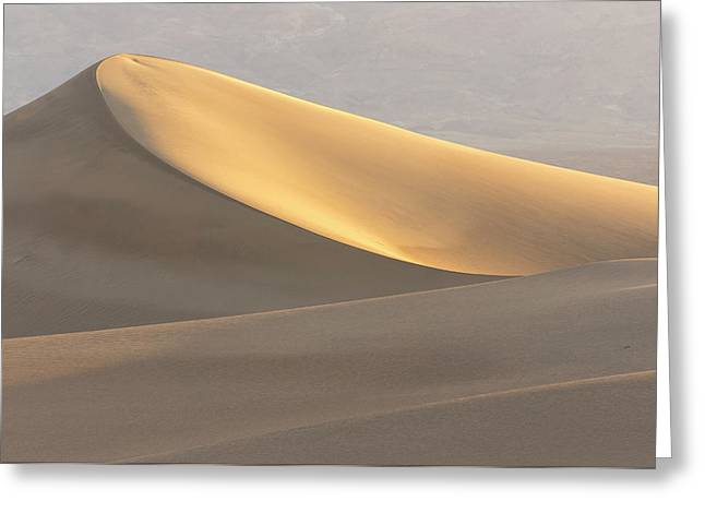 Mesquite Flat Dunes, Death Valley Greeting Card by Rob Sheppard