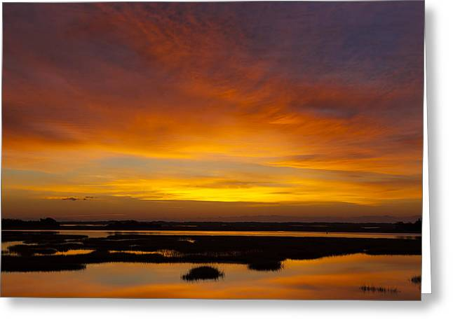 Message From The Universe  Sunrise Photograph By Jo Ann Tomaselli Greeting Card