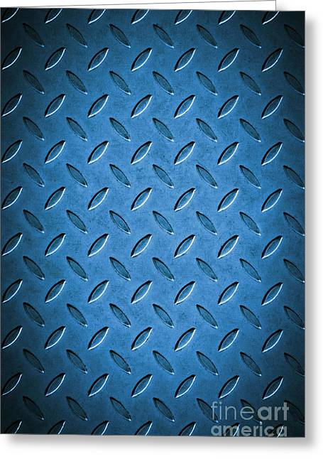 Metal Background Greeting Card