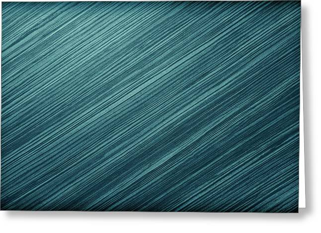 Metal Background Or Texture Of Brushed Steel Plate  Greeting Card by Wanlop Sonngam
