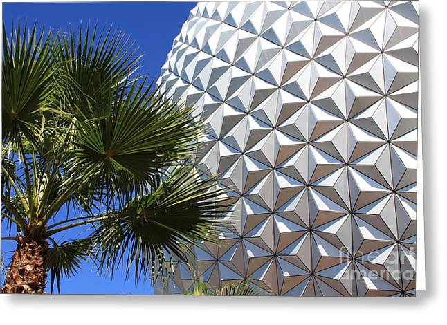 Greeting Card featuring the photograph Metal Earth by Chris Thomas