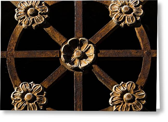 Metalworks Greeting Card by John Daly