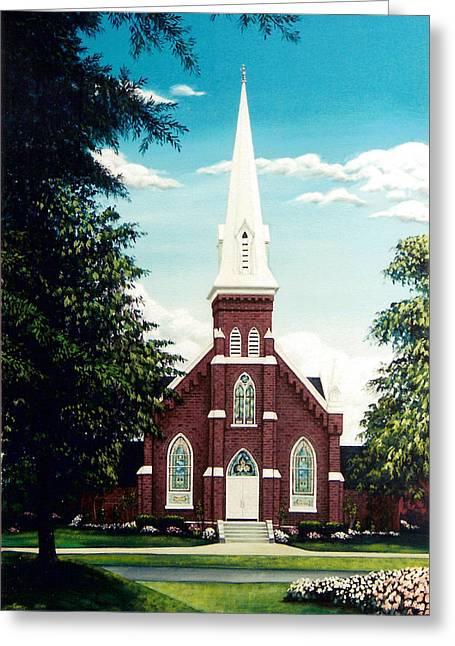 Methodist Church Greeting Card