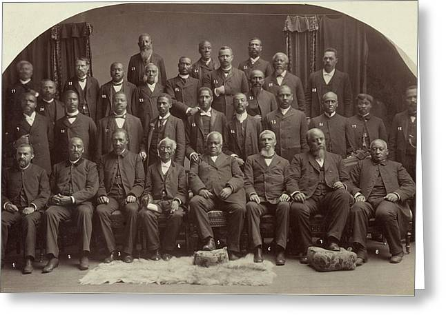 Methodist Conference, 1891 Greeting Card by Granger