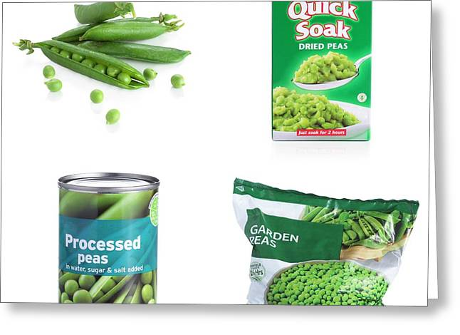 Methods For Preserving Peas Greeting Card