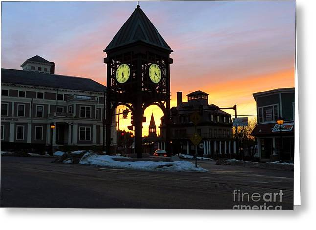 Methuen Square Greeting Card