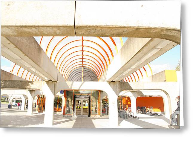 Metro Terminal Greeting Card by Eric Soucy