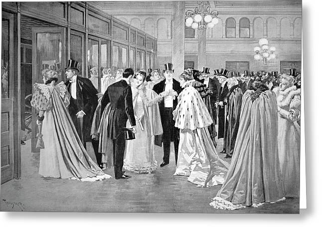 Metropolitan Opera, 1894 Greeting Card