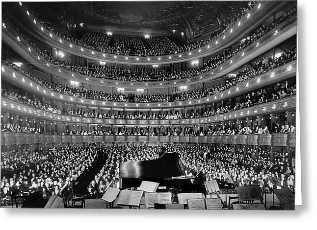 Metropolitan Opera House 1937 Greeting Card