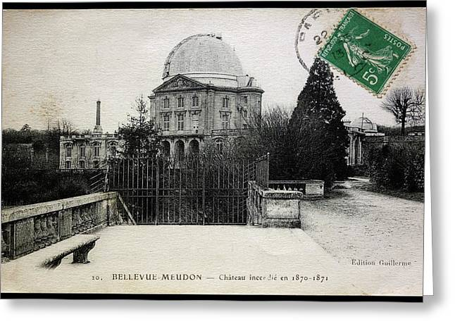 Meudon Grand Lunette Observatory Greeting Card